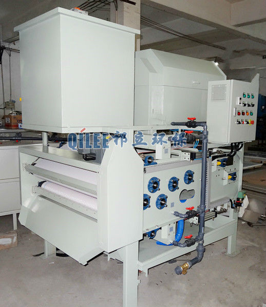 rotary drum belt filter press