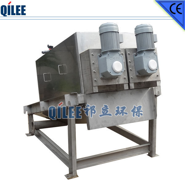 Stacked Dehydrating Machinery for Mining Waste Water Treatment