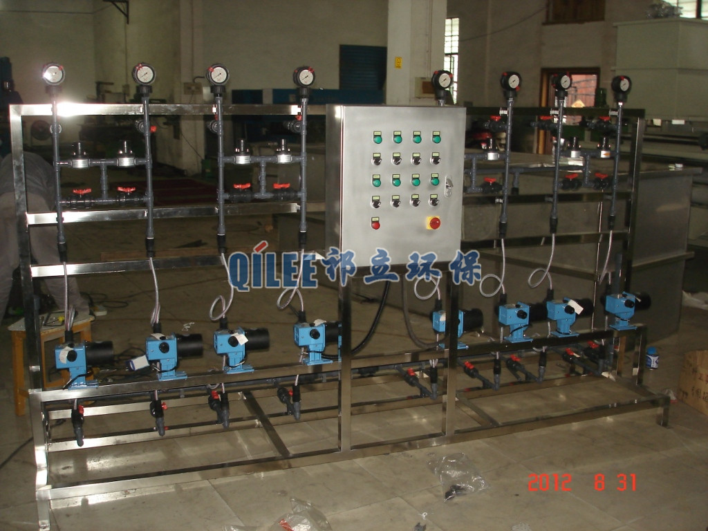 Liquid Dosing System for Chemical Industry