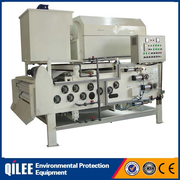 Sludge dewatering filter press machine for livestock sewage