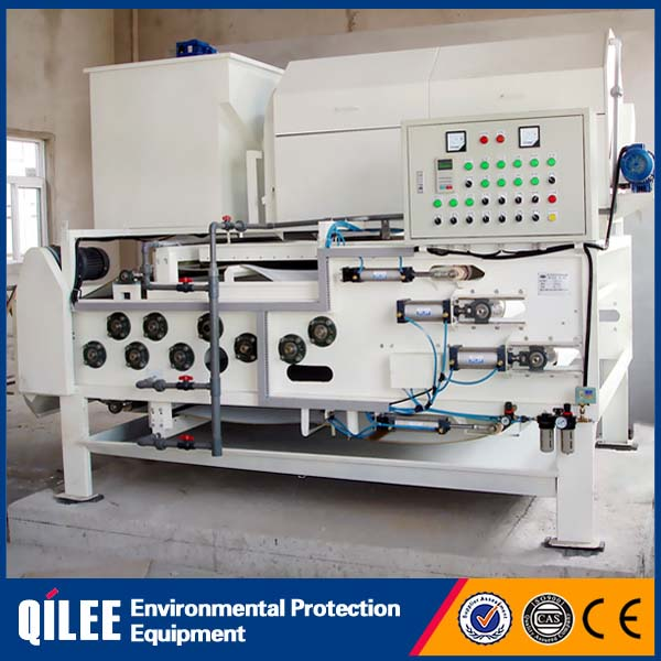 High capacity-fully automatic belt filter press for Juice factory