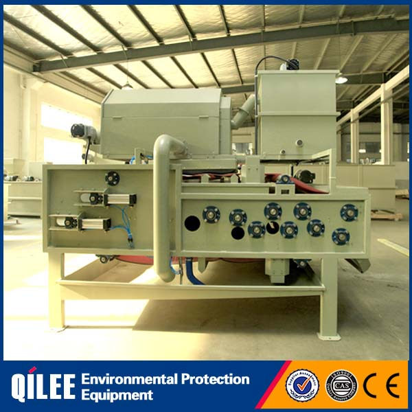 Solid-liquid separation belt filter press for appler juice factory