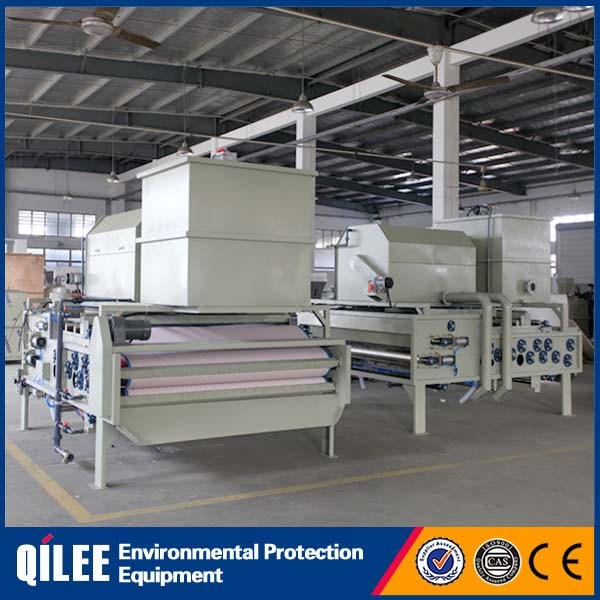 Belt Filter Press for Small Effulent Treatment Plants